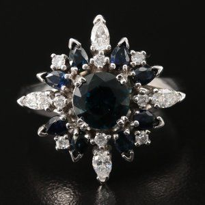 House of Faberge 1986 / Northern Star Diamond Ring
